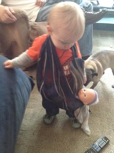 Babywearing Baby