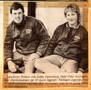 District Championships 50m prone / DM 50m liggande 1982