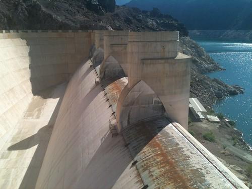 Nevada spillway