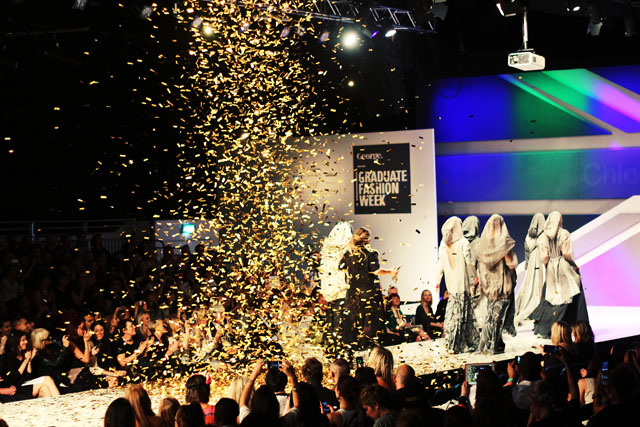 Graduate Fashion Week Gold Award winner Chloe Jones