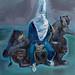"""Nerezza"", olio su tela, 180x200cm, 2012"