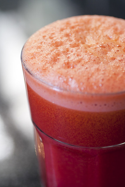 Beetroot and Ginger Juice