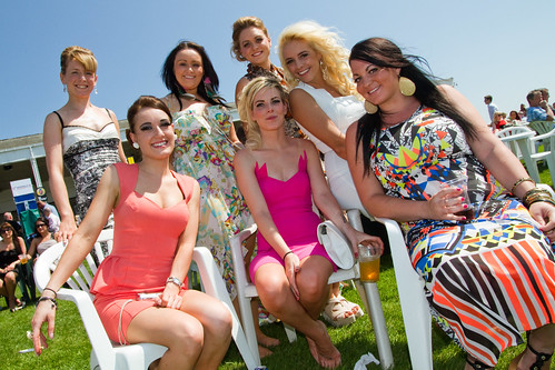 Ladies Day York Racecourse