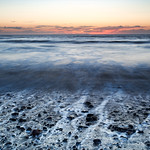 Dinas beach, sunset - 1