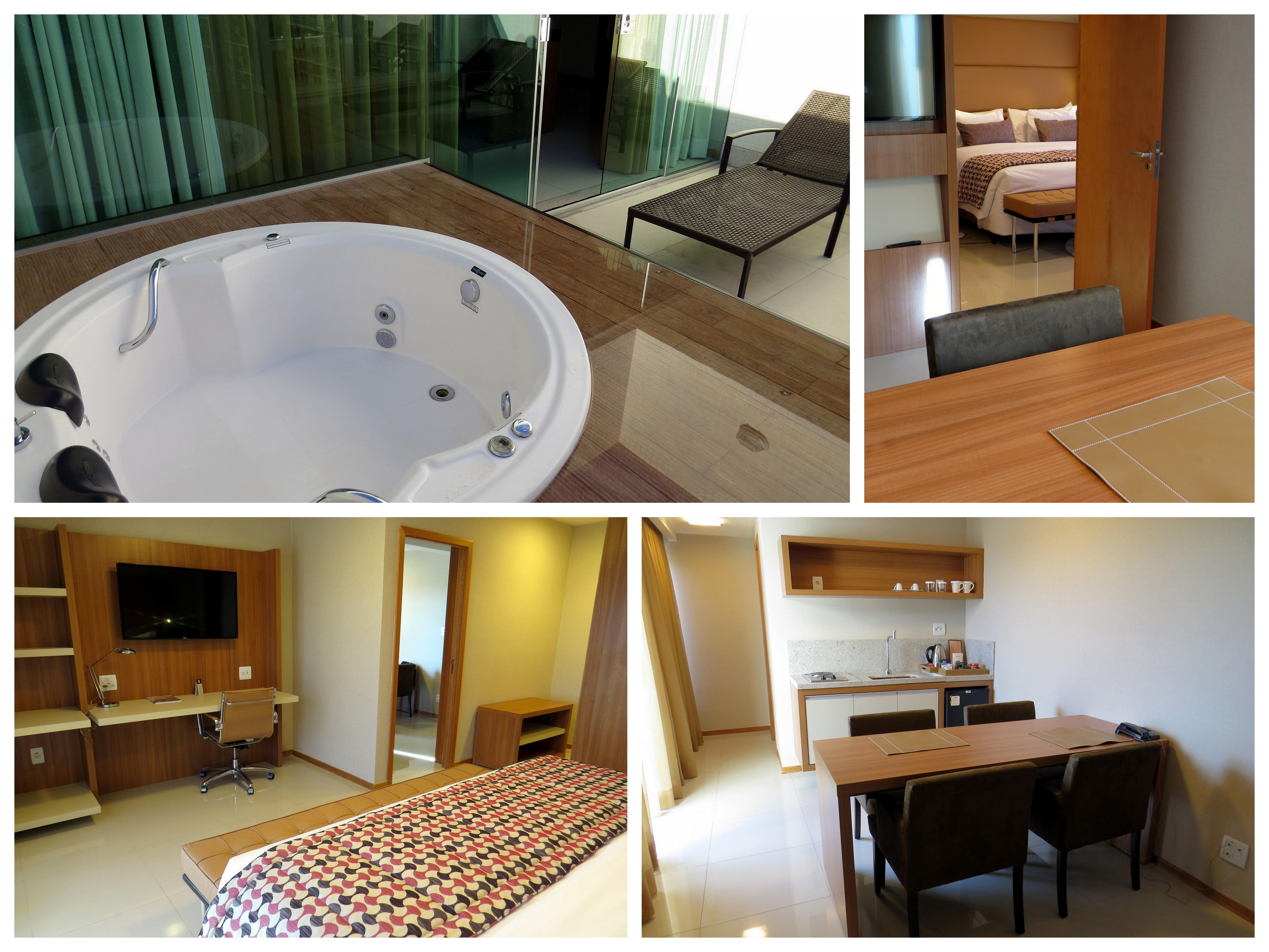 banheiros mesa de jantar e banheira de hidromassagem na varanda #6A4321 5120x3840 Balança Digital Para Banheiro Em Fortaleza