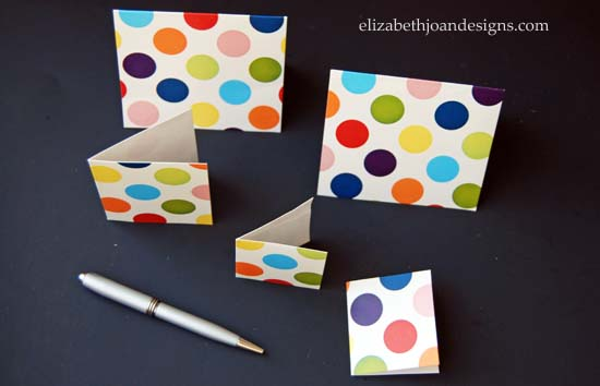 Gift Box Note Cards 8