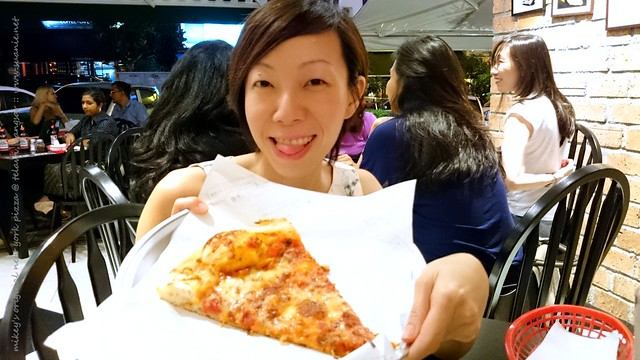 Mikey's Original New York Pizza, Bangsar - single slice
