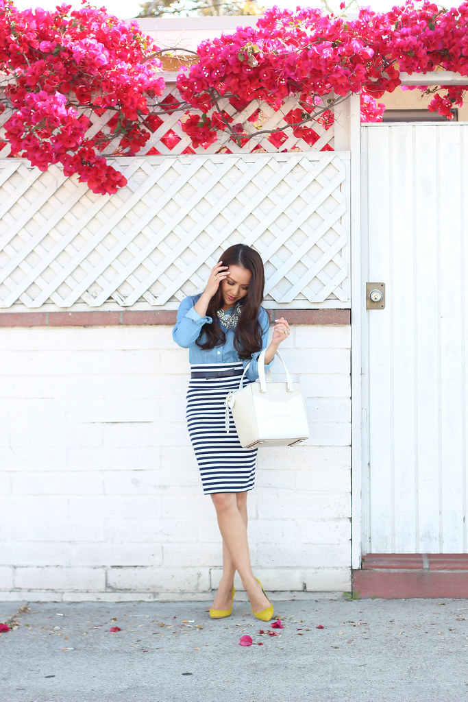 Chambray and Stripes-2