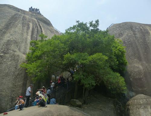 Fujian-Gulang Yu- Centre de l'ile-Roc du Soleil (26)