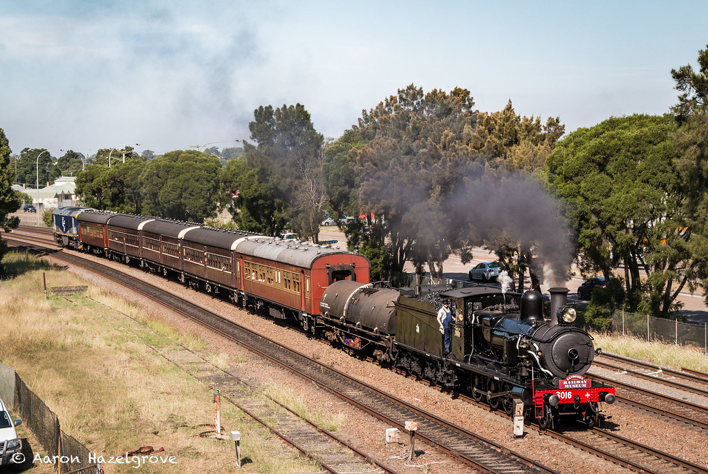 3016 and GL102 at Maitland by Azza01