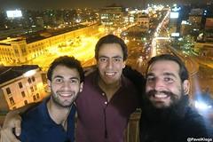 I met with great couchsurfers in best place in Cairo <3 Setkal jsem se s kámošema na nejlepším místě v Káhiře <3