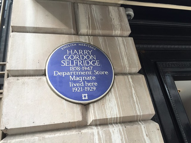 Gordon Selfridge's old house