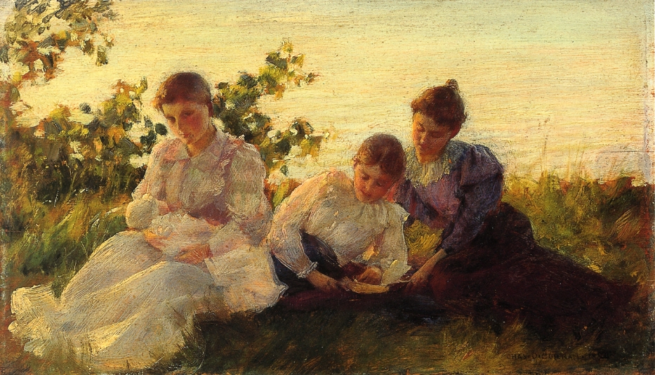 Three Women by Charles Courtney Curran - 1894