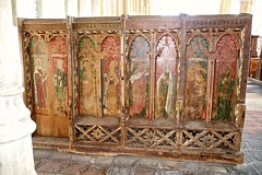 Medieval Painted Screens and Pulpits