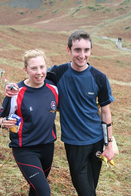 Bex Harding and Hector Haines, BUCS Champions