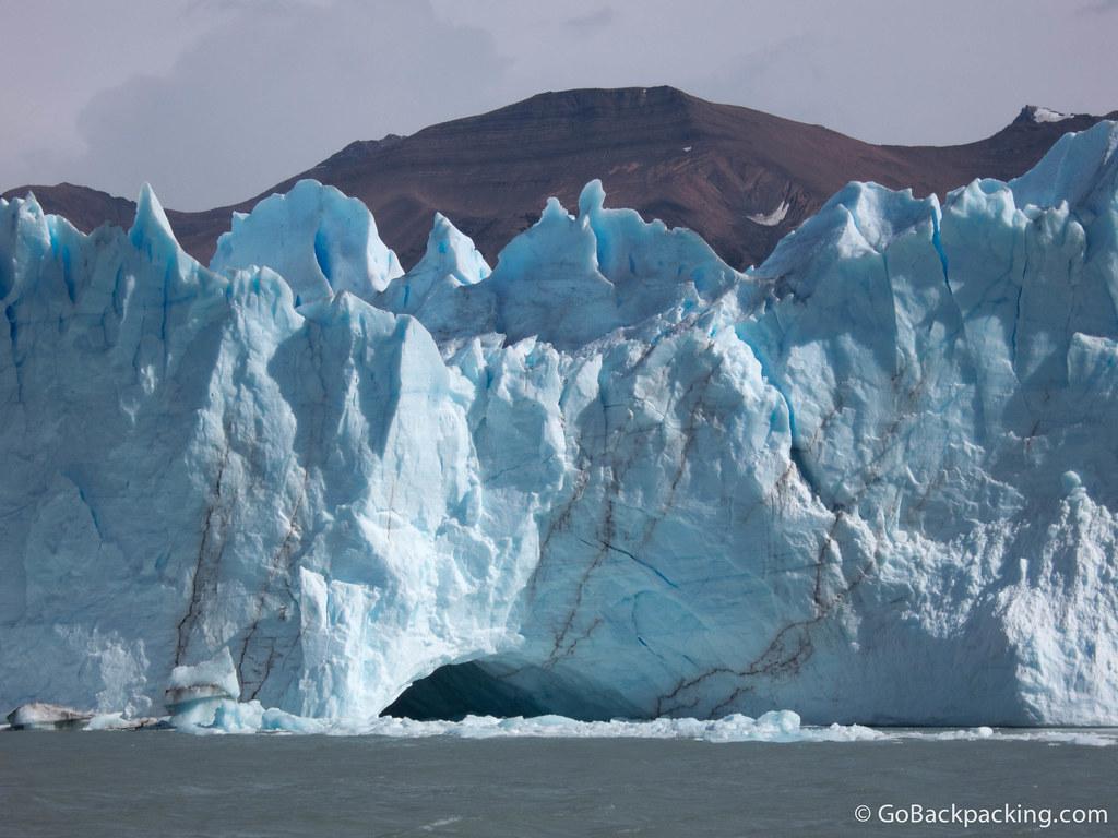 The South face of Perito Moreno Glacier