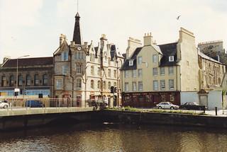 looking towards Bernard Street, Leith, Sept 1988