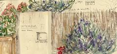 """JAPANESE ALBUM """"Balade autour de mon nouveau jardin"""" - pages 4-5-6 ©"""