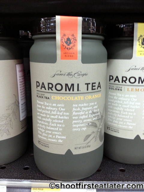 Paromi chocolate orange tea