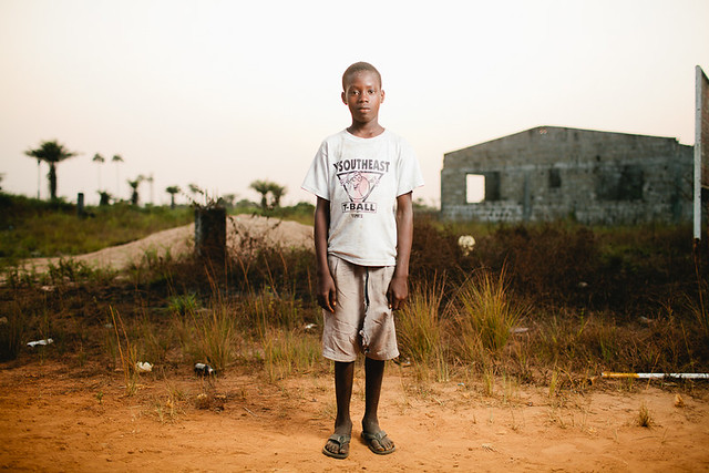 Liberia Boy - strobist