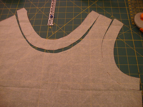 making pattern for interfacing