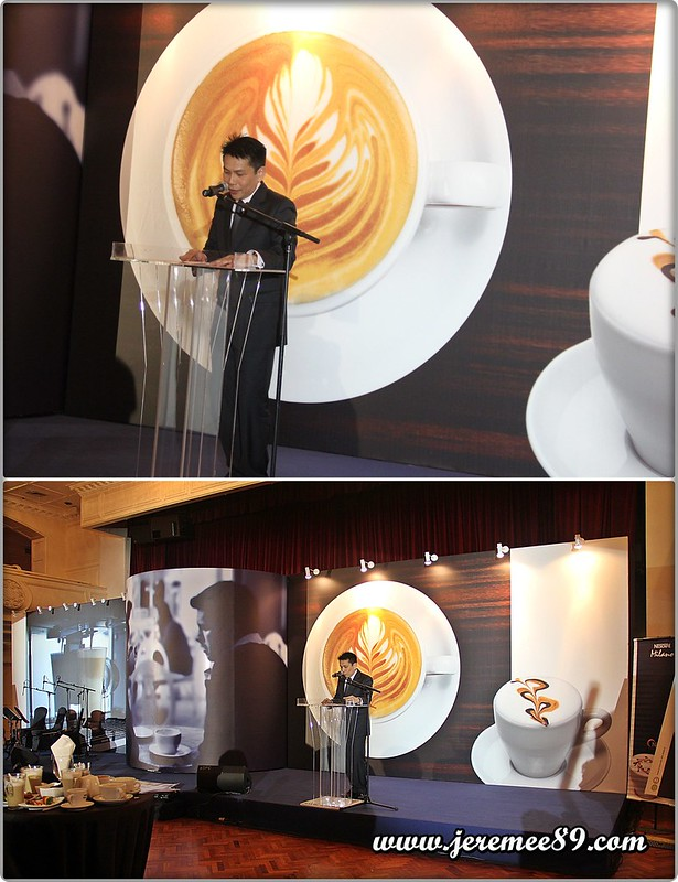 Nescafe Milano Launching @ E&O Hotel - Regional Manager Speaking (Yeap)