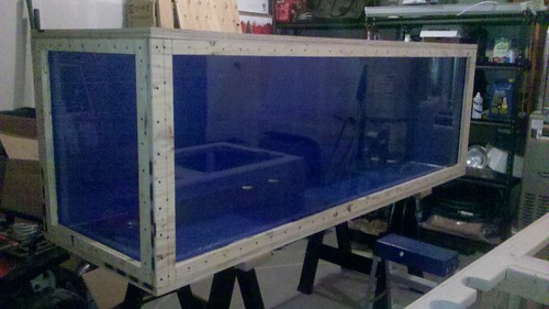 Wood double gate plans plywood aquarium plans exotic for Plywood fish tank