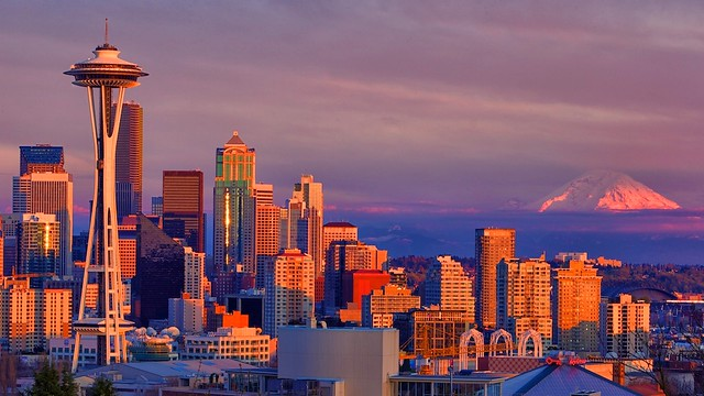 Seattle, Washington - Skyline