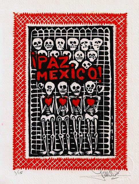Paz Mexico. Lourdes Lica