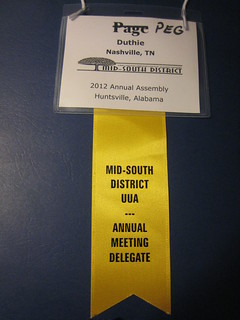Delegate badge and ribbon