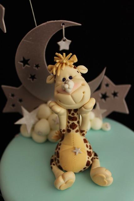 Gum paste Giraffe