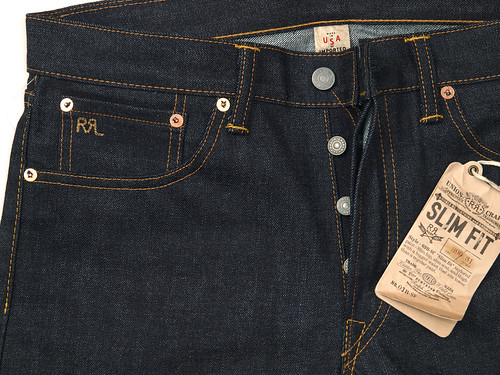RRL / Slim Fit Rigid Denim