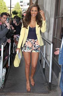 Rochelle Wiseman Cap Toe Heels Celebrity Styling Fashion