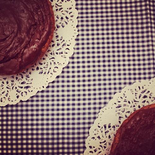 Tarta de chocolate a la inglesa