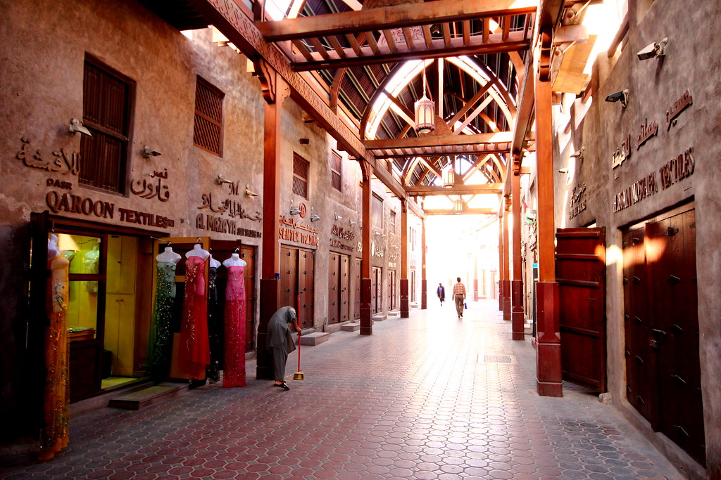 Image result for The Souks around Old Dubai
