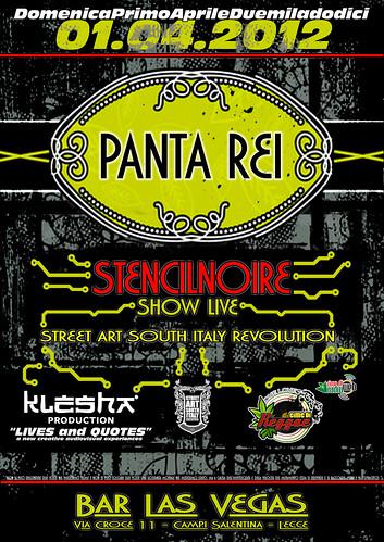 """""""PANTA REI"""" //STENCILNOIRE SHOW LIVE// by STENCILNOIRE"""