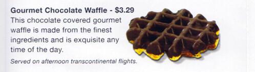Gone: Chocolate Waffle