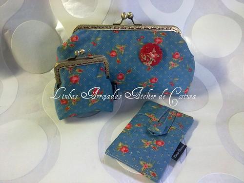 Conjunto Sweet Sping Blue by ♥Linhas Arrojadas Atelier de costura♥Sonyaxana