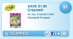 Crayola Color Wonder Product Coupon