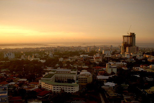 city morning view philippines cebu cebucity