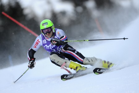 Kryštof Krýzl je mistrem republiky v obřím slalomu