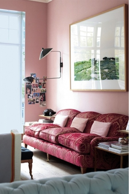 Remarkable Design Trend The Hot Pink Sofa Aphrochic Modern Soulful Interior Design Ideas Gentotthenellocom
