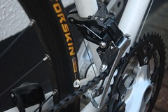 Deore chainset and front mech