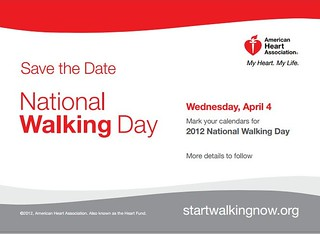 American Heart Association, National Walking Day