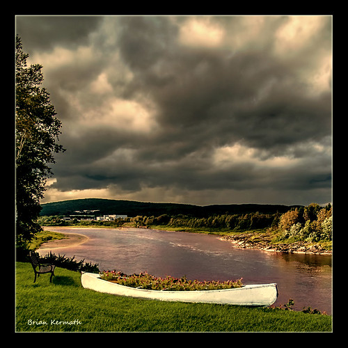 sky canada clouds bench maine canoe rivers newbrunswickcanada flickraward stjohnmaine stfrançoisdemadawaska