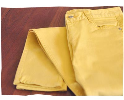 Yesstyle - Yellow Jeans
