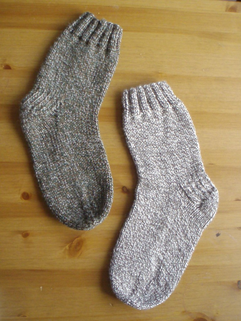 Knitting Socks On A Circular Needle Pattern And Tutorial Flickr