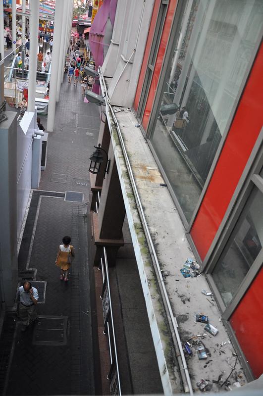 Мусор в Китайском квартале в Сингапуре