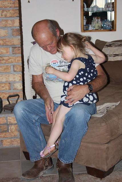 with grandpa