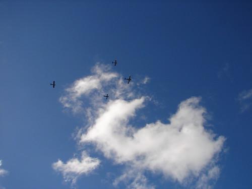 Anzac war planes
